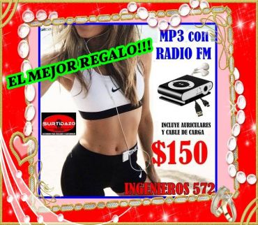REPRODUCTOR MP3 $150