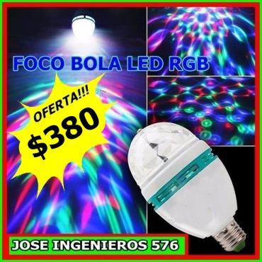 FOCO BOLICHERO LED $380